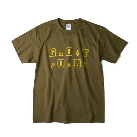 Gear LogoS/S T-Shirts(Olive) 30% OFF
