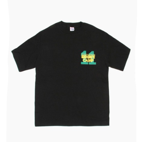 11th GOOUT CAMPS/S T-Shirts(Black) 30% OFF
