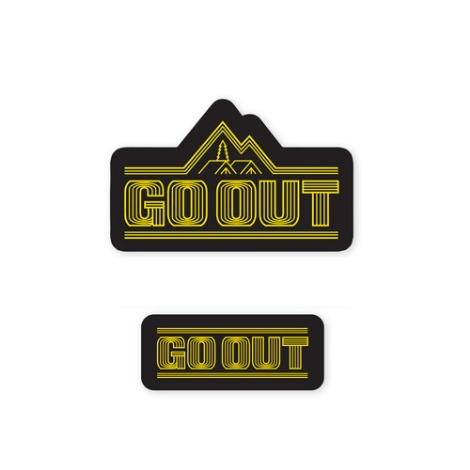 GO OUT KOREAWaterproof Sticker Set 2